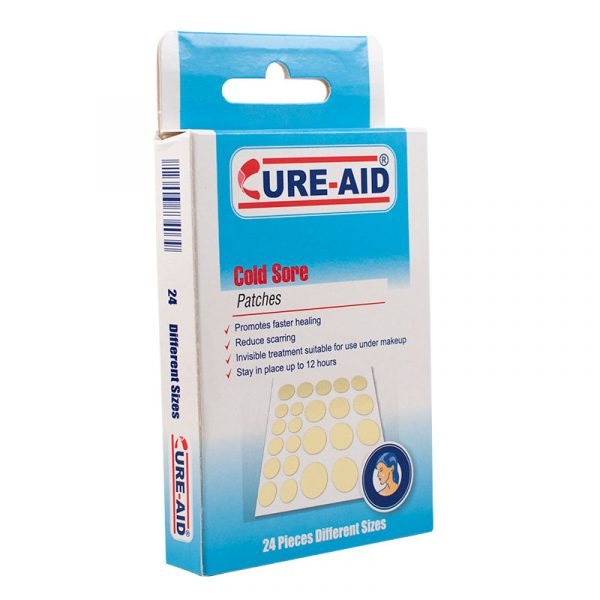 Cure Aid - Cold Sore - Puntos hidrocoloide para el acné