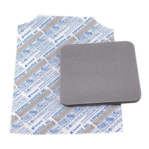 Espuma Gentle AG - Parche con plata y silicon