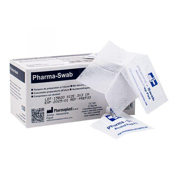Pharma-Swab - Toallitas humedas con alcohol