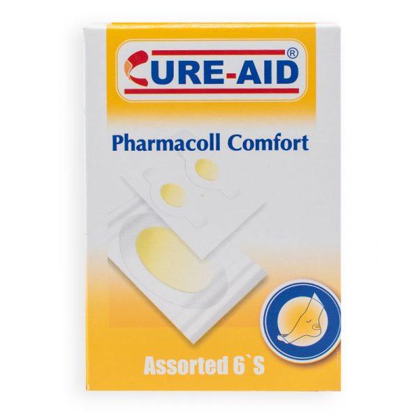 Cure Aid - Pharmacoll Comfort - Curita para talón y codo hidrocoloide