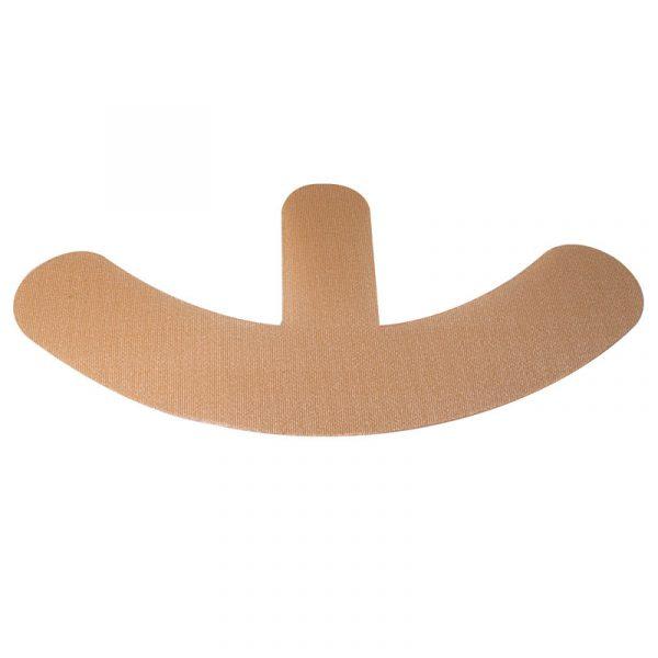 Oleeva - Banda de silicón reutilizable para cictrices de seno (forma ancla)