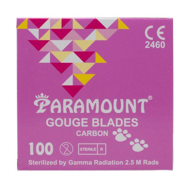 Gouge Blades Carbon - Hojas de gubia podológica de carbón