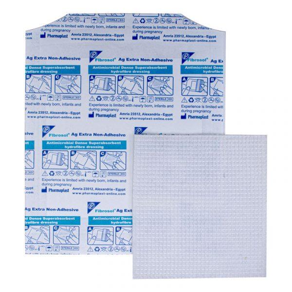 Fibrosol Ag Extra Non-adhesive - Parche De Fibrosol Con Plata